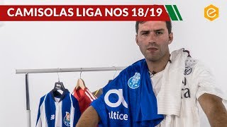 Camisolas FC PORTO E BENFICA 2018-2019