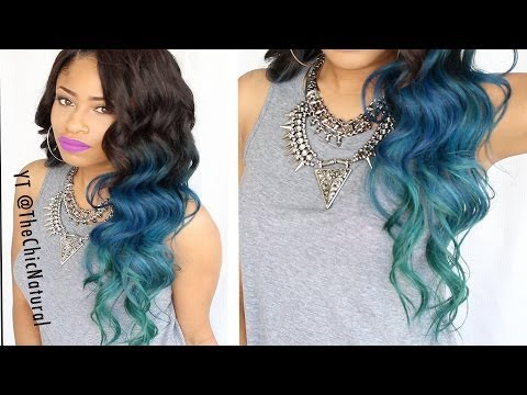 How To Mermaid Hair Color Diy