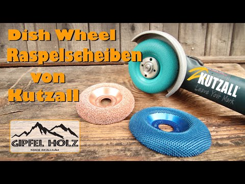 Kutzall Raspelscheiben: Vorstellung, Benutzung und Test - Dish Wheels