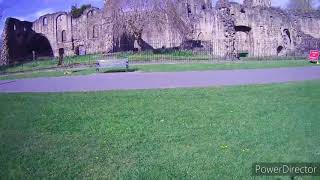 Hubsan H501C x4 cam brushless drone/quadcopter flight Kirkstall Abbey