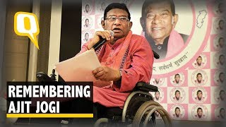 Ajit Jogi, First Chief Minister of Chhattisgarh, Passes Away at 74 | The Quint - Download this Video in MP3, M4A, WEBM, MP4, 3GP