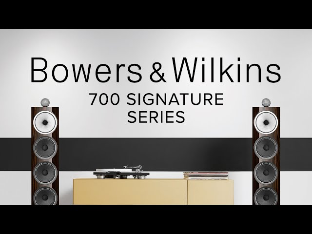Video of Bowers & Wilkins 705 Signature