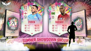 SUMMER HEAT SHOWDOWN PHIL FODEN & FABINHO - SUMMER SHOWDOWN SBC BATTLE!!! FIFA 20 ULTIMATE TEAM