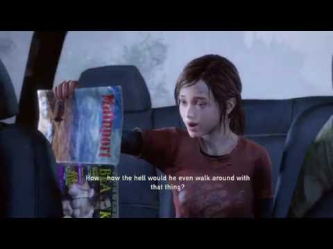 The Last of Us™ Remastered Ellie and the gay porn mag lolz