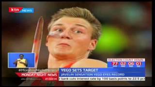 Javelin sensation Yego targets title defence in London