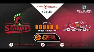 QBL18: Round 8 Spartans vs Meteors (Men)