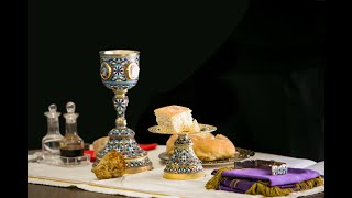 The Proskomide Service | Preparing the Bread and Wine for Worship
