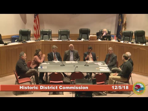 Historic District Commission 12.5.18