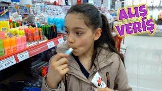 TEDİ ALIŞVERİŞİNDE ORTALIĞI KARIŞTIRDIK Pretend Play Toys Shopping
