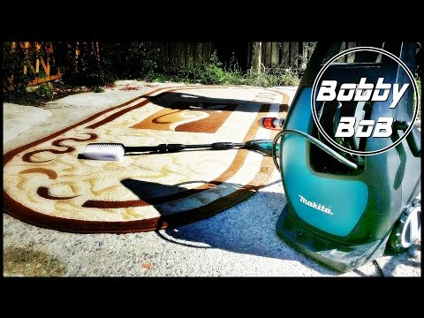 Makita hw111 - spalare covor - carpet cleaning