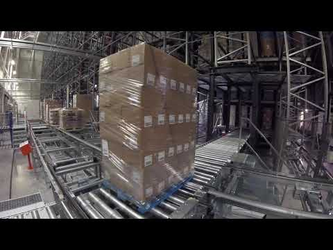The Fully Automated Cold Storage of NewCold | Watch the Storage Process