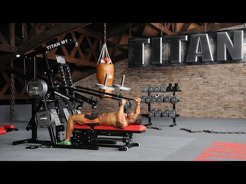 M1-JA-01 - Lever Bench Press