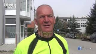 CIKLOTURISTA iz Zavidovića obilazi biciklom svijet / Ismet Škulj / Sjenica / Avgust 2016