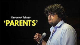 Parents | Stand-up Comedy by Karunesh Talwar - YouTube