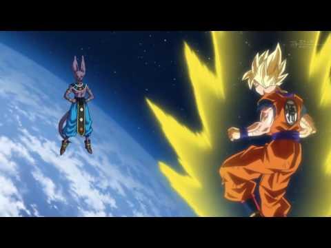 Dragon Ball Super Episode 13 - SSJ Goku vs Beerus
