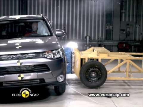 NCAP: Mitsubishi Outlander