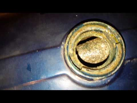 Der Aufwand des Benzins auf der Vasen 21074