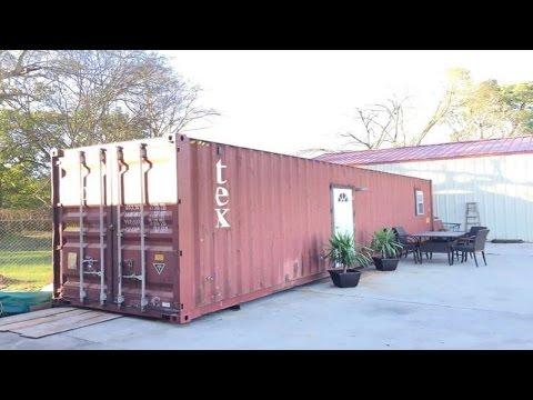 Por fuera este contenedor se ve pequeño y feo. Por dentro, guarda consigo la casa de tus sueños