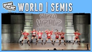 Las 8 Supernenas - Spain (Adult) at the 2014 HHI World Semis