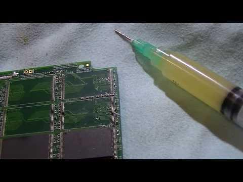 Ремонт твердотельного накопителя SSD OCZ за 35 секунд