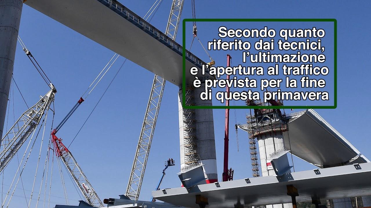 Quasi ultimato il nuovo Ponte Morandi