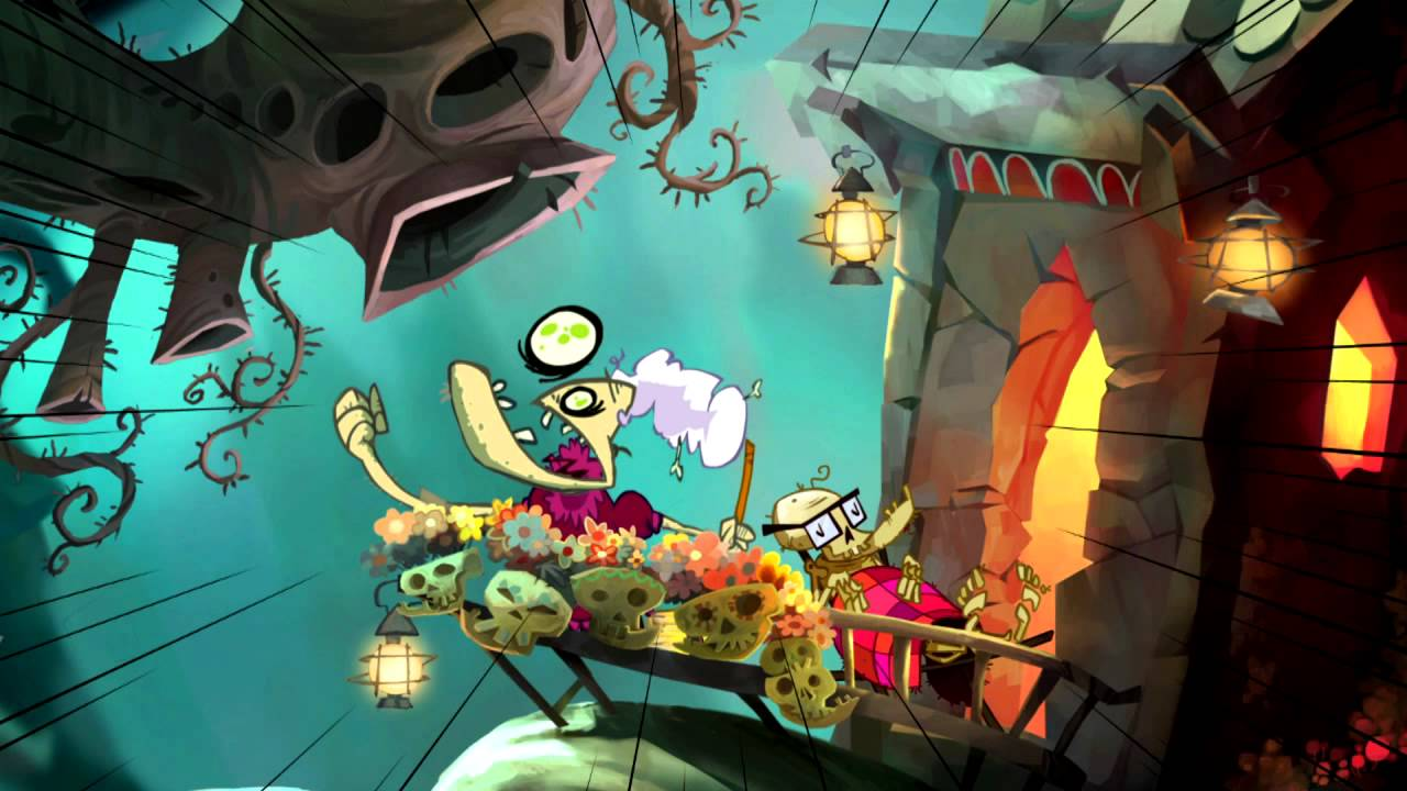 This Rayman Origins Trailer Looks As Good As You'd Expect