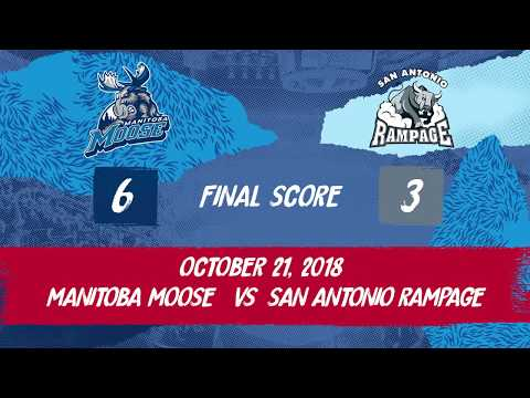 Rampage vs. Moose | Oct. 21, 2018