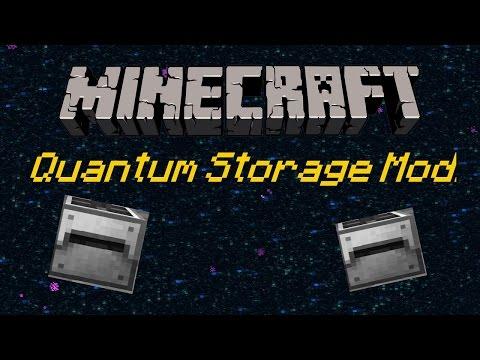 Minecraft 1.11.2 : Quantum Storage Mod!! | Mod Review! Quantum Tank, Quantum Storage