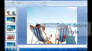 How to create a slideshow in Powerpoint