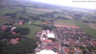 preview picture of video 'Langen Emsland Sportplatz an Pfarrkirche St. Matthias 4'