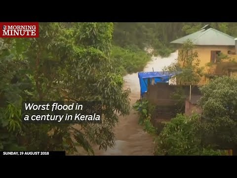 Worst flood in a century in Kerala