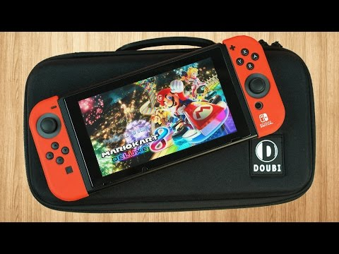 The PERFECT Nintendo Switch Travel Case? | DOUBI Switch Carrying Case Review