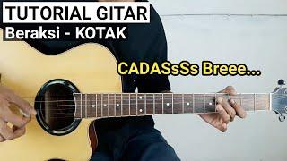 Tutorial Gitar BERAKSI KOTAK...