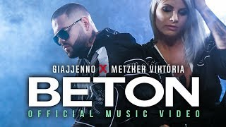 GIAJJENNO X METZKER VIKTÓRIA   BETON | OFFICIAL MUSIC VIDEO |