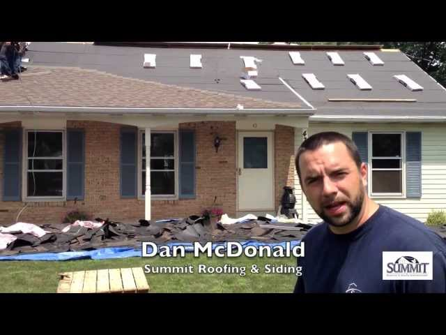 Wondering what happens on a typical roof replacement project? This video sums it up!...