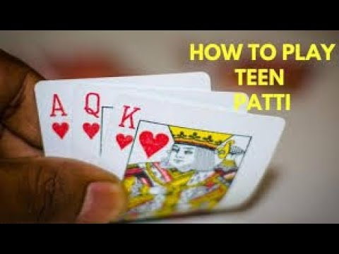 How to play teenpatti game
