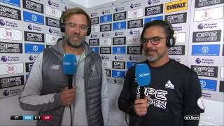 Jurgen Klopp and David Wagner joint post-match interview after Huddersfield 0-1 Liverpool