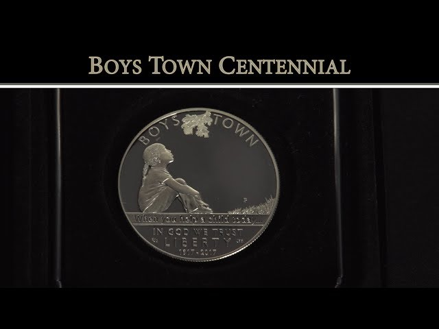 Boys Town Centennial 2017 Proof Silver Dollar