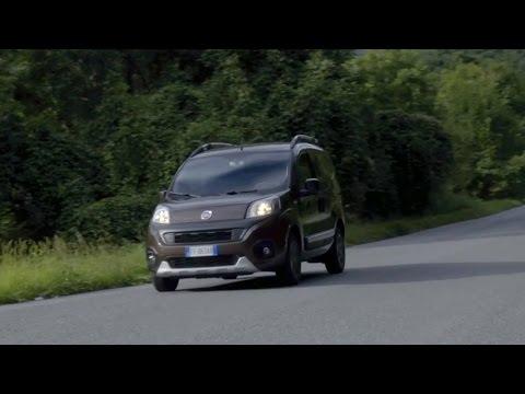 Fiat  Qubo Минивен класса M - тест-драйв 1