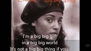 Emilia ~ Big Big World Lyrics