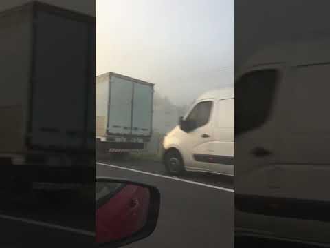Protestos de caminhoneiros na RS 239 em Araricá