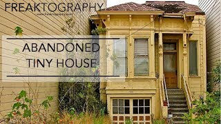 Exploring Abandoned Tiny House Chased by Angry Raccoons | Tiny Houses | Exploring with Freaktography