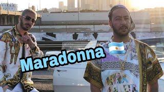 AM La Scampia Dans Un Grand Concert Avec Lacrim (Maradonna) 🔥🔥
