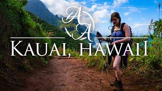 The Hidden Beauty Of Hawaiis Garden Island   Best Hiking On Kauai, Hawaii In 4K