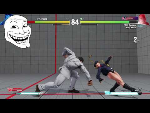 [Street Fighter 5] Tu t'es vu quand tu lag?