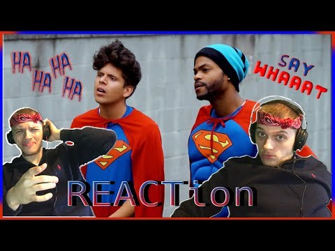 Reaction!!! Racist Superman | Rudy Mancuso, King Bach & Lele Pons | This is too funny