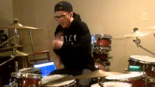 Dizzy Wright- Floyd Money Mayweather- Drum cover by Josh DeCoster HD