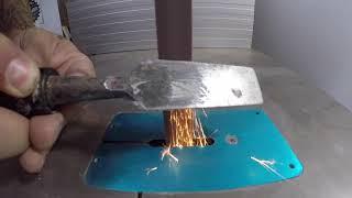 Bandsaw Metal Sanding Belt: Bandsand MetalBand on a Chisel