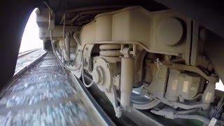 GoPro -Тележка Штадлерского поезда / Stadler EMU train bogie wheelcam