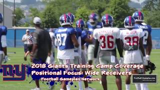 FBGP's 2018 New York Giants Training Camp Coverage: Day 3